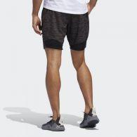 Спортивные шорты Adidas 4Krft Striped Heather DQ2863