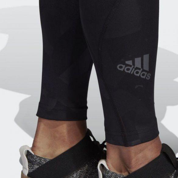 Укороченные леггинсы Adidas Alphaskin Sport Embossed DU2039