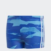 фото Плавки-боксеры Adidas 3-Stripes Graphic DP7519