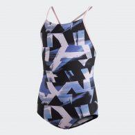 Слитный купальник Adidas Allover Print DQ3374