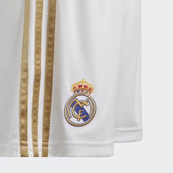 Детские домашние игровые шорты Adidas Real Madrid Home Shorts DX8840