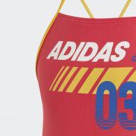 Слитный купальник Adidas Lineage DY6386