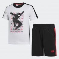 Футболка и шорты Adidas Marvel Spider Man Summer DV0831