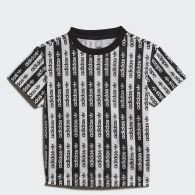 Детская футболка Adidas Allover Print FM5498