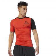 Компрессионная футболка Reebok Ost Ss Graphic Comp Tee DU3956
