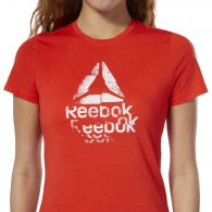 Футболка Reebok Texture Logo Crew DU4669