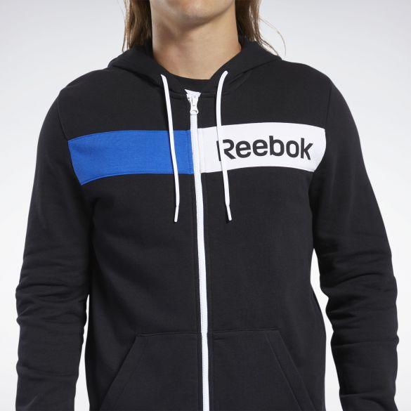 Мужская толстовка Reebok Training Essentials Linear Logo FK6115