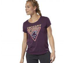 Женская футболка Reebok CrossFit Neon Retro Easy DU4596