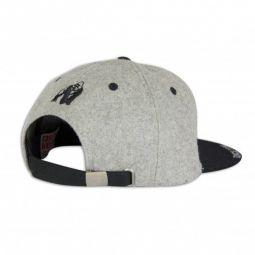 Бейсболка Gorilla Wear Soft Text Flat Brim Gray/Black 99119800