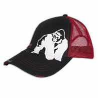 Бейсболка Gorilla Wear Trucker Cap Black/Red 99122900