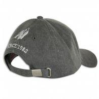 Бейсболка Gorilla Wear GW Washed Cap Gray 99123800