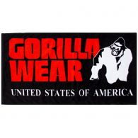 Рушник Gorilla Wear Functional Gym Towel Black / Red 99160905