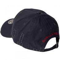 Бейсболка Gorilla Wear Harrison Cap Black/Red 99172905