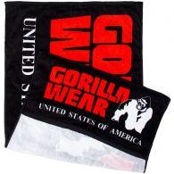 Полотенце Gorilla Wear Classic Gym Towel Black/Red 99173905