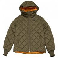 Женская куртка Converse Quilted Poly Puffer Med Olive 10006836-348