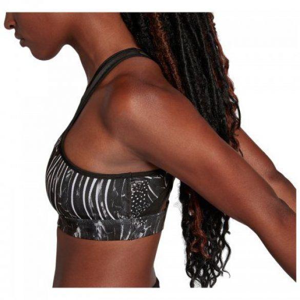 Женский спортивный бра-топ Nike Swoosh Feather Curve Bra 928887-027