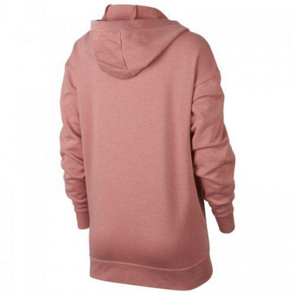 Женская толстовка Nike W Nsw Club Hoodie Laceup 929531-685