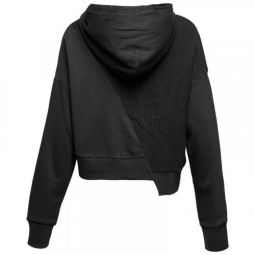 Женская толстовка Converse Sweater Knit Cropped Pullover Hoodie 10007184-001