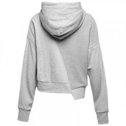 Женская толстовка Converse Sweater Knit Cropped Pullover Hoodie 10007184-035