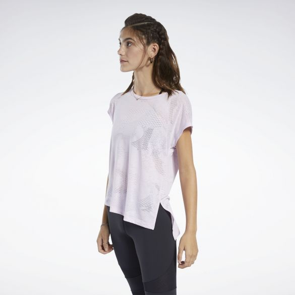 Женская футболка Reebok Burnout FK7057