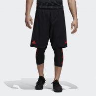 фото Шорты с вшитыми леггинсами Adidas Tan DP2700