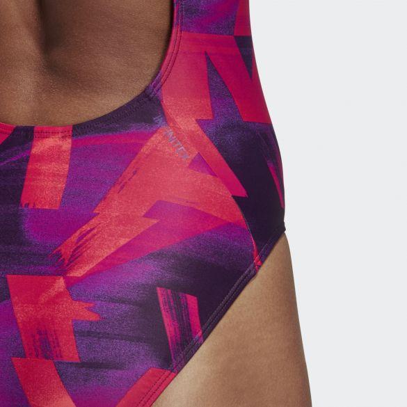 Слитный купальник Adidas Athly X Graphic DT4838