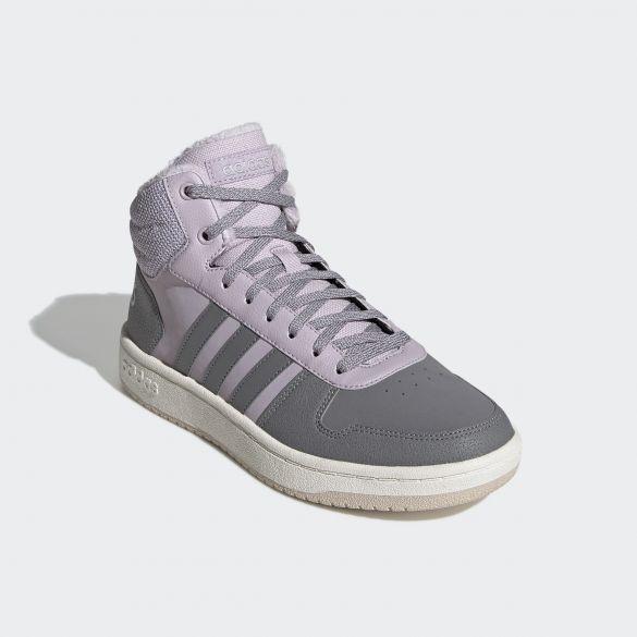 Женские кроссовки Adidas Hoops 2.0 Mid EE7878