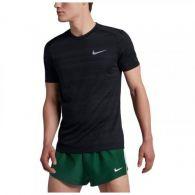 Мужская беговая футболка Nike Dry Miller Top Ss Nv 891684-010