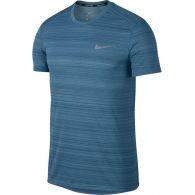 Мужская беговая футболка Nike Dry Miller Top Ss Nv 891684-407