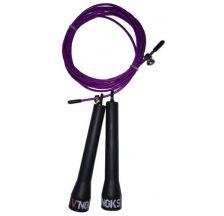 Скакалка для кроссфита V`Noks Steel фиолетовая 40217