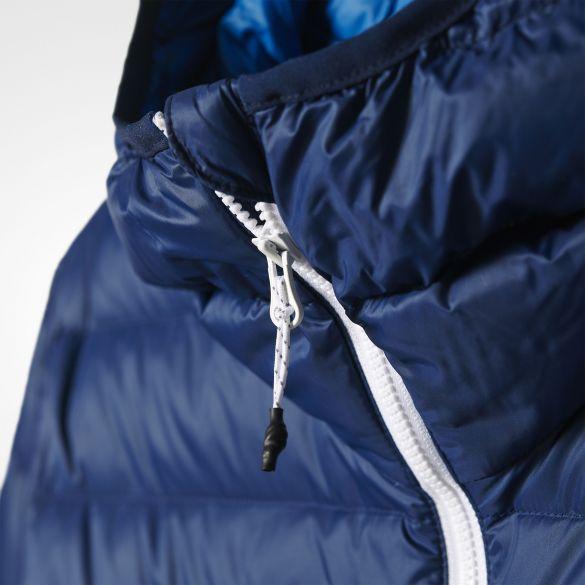 Мужской пуховик Adidas Down Hoodded Jacket AP8376