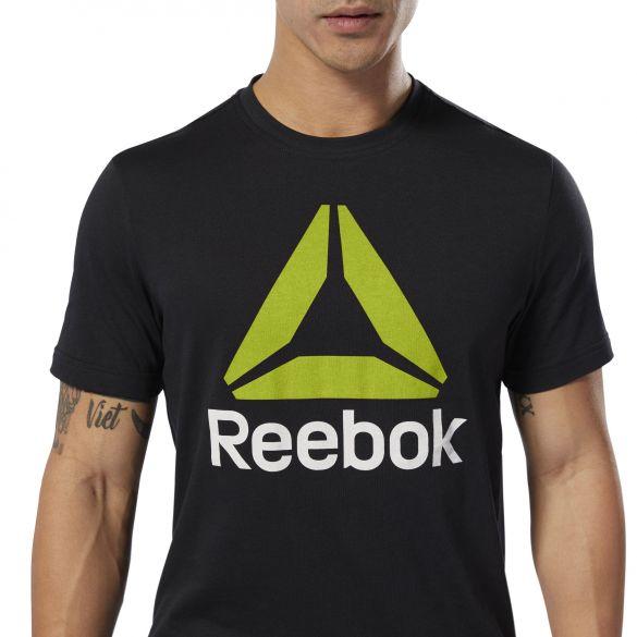 Спортивная футболка Reebok Qqr Stacked DU4691