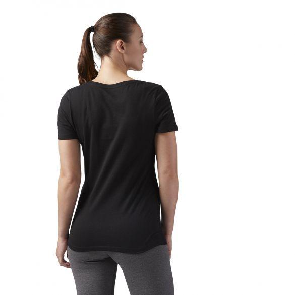 Женская футболка Reebok Linear Read CF4455