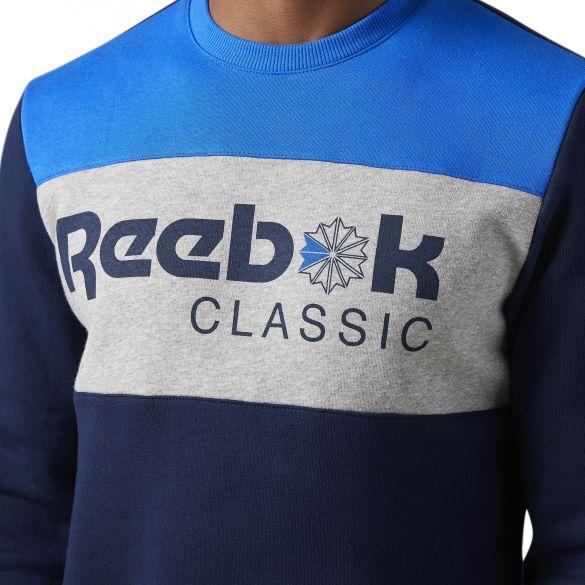 Мужская толстовка Reebok F Iconic Crewneck BQ2636