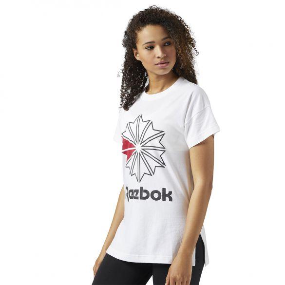 Женская футболка Reebok F GR TEE BS3734