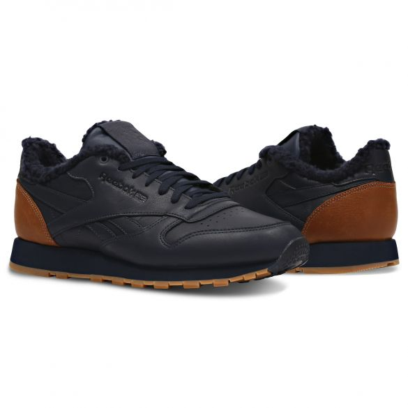 Мужские кроссовки Reebok Classic Leather Sherpa Low CN1819 купить по ... 82912e9ca6166