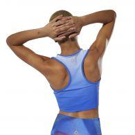 фото Спортивный кроп- топ Reebok Yoga Ombre DU4482