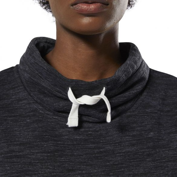 Женская толстовка Reebok Training Essentials Marble Cowl Neck DU4910