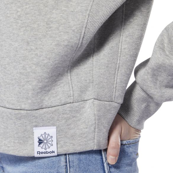 Женский свитшот Reebok Classics Big Logo Fleece Crew DT7276