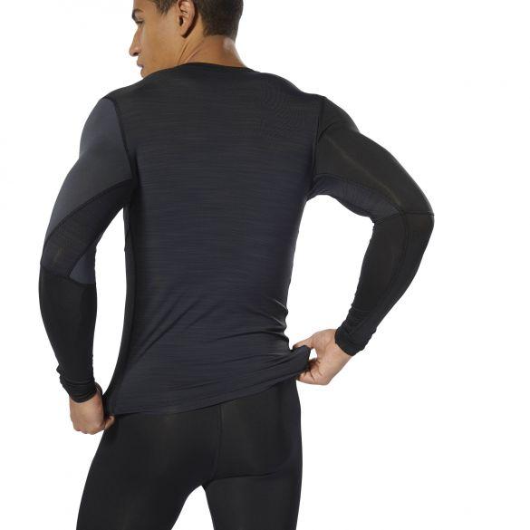 Компрессионная футболка с длинным рукавом Reebok Training DP6563