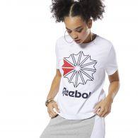 Женская футболка Reebok Ckassics Big Logo Graphics DT7220
