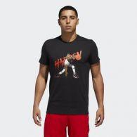 фото Мужская футболка Adidas Harden Geek Up CW9223