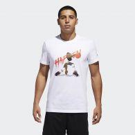 фото Мужская футболка Adidas Harden Geek Up CW9224