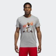 фото Мужская футболка Adidas Harden Geek Up CW9225