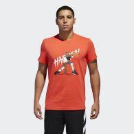 фото Мужская футболка Adidas Harden Geek Up CW9226