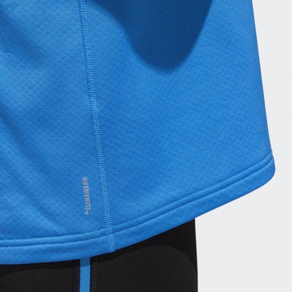 Мужской лонгслив для бега Adidas Rs Cw 1 - 2 Zip M D93104