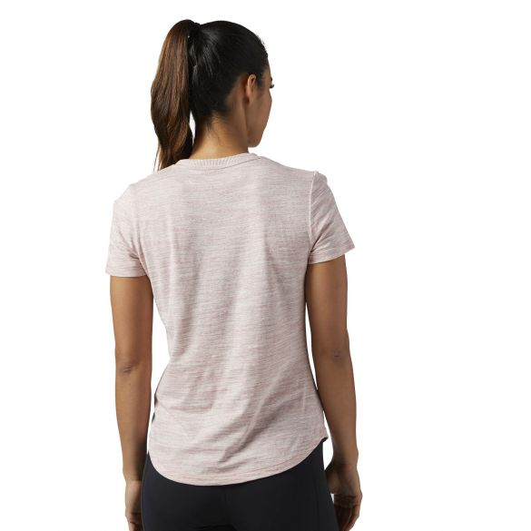 Женская футболка Reebok El Logo Marble Tee BS4049