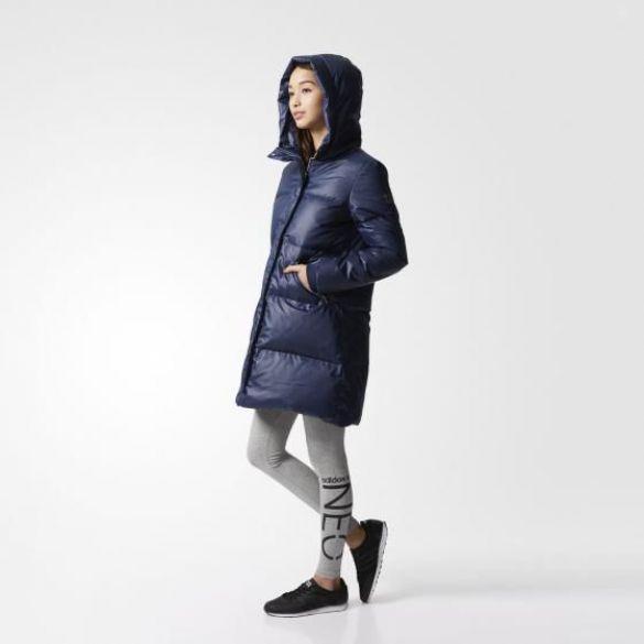 Женский пуховик Adidas A-Line CD2287