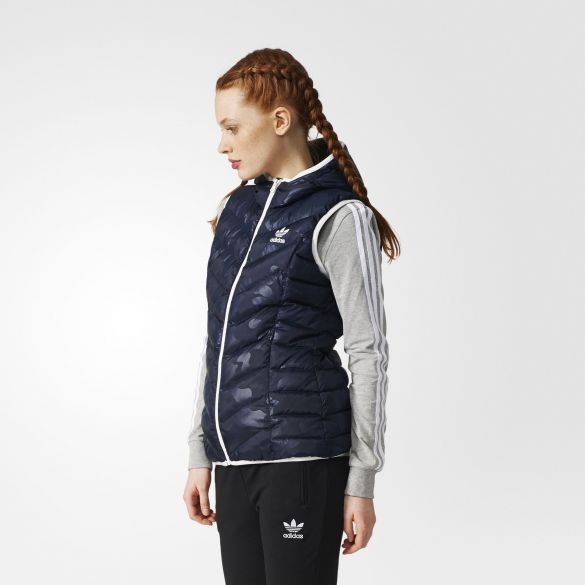 Женский жилет Adidas Originals Slim Trefoil BQ7494