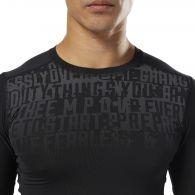 Компрессионная футболка Reebok AC Graphic Comp Tee D93794